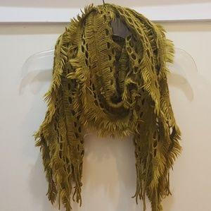 Funky knit scarf